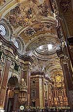 Interior of Melk Abbey