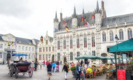 Beautiful Buildings and Holy Blood in Bruges' Burg Square