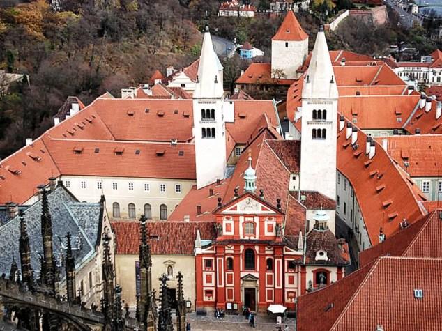 St George's Basilica - Prague Castle, Bazilika Sv. Jiří