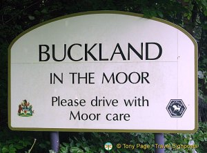 Buckland Moor sign