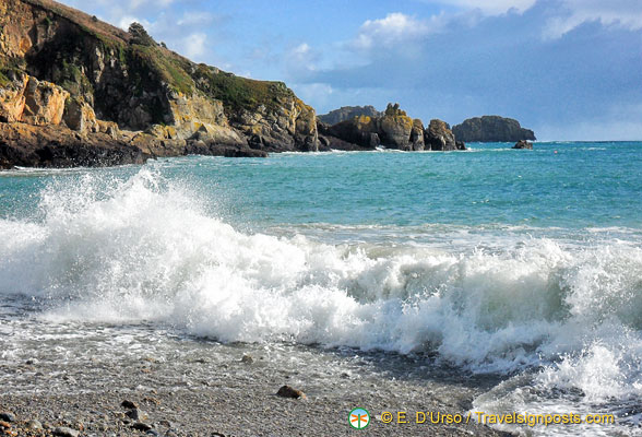 Saints Bay, Guernsey, Channel Islands