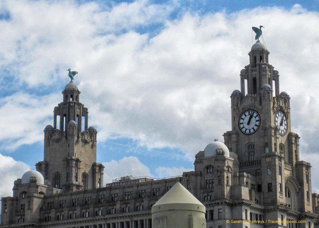 The Liver Birds on top of the Royal Liver Building, Liverpool