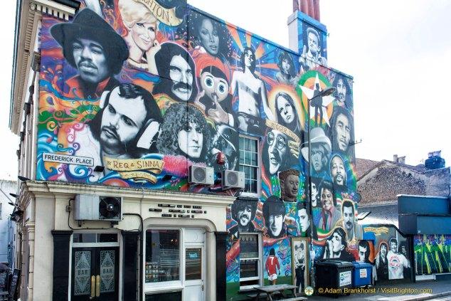 Graffiti Art in the North Laines, Brighton