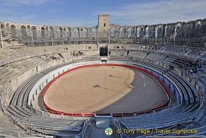 Arles magnificent Roman amphitheatre