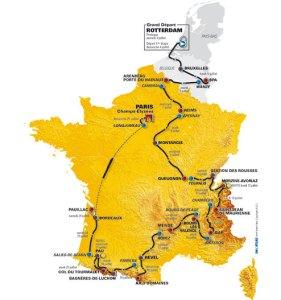 Tour de France 2010 Route..