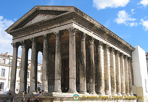 N mes sightseeing attractions maison carr e n mes travel - Maison carree nimes ...