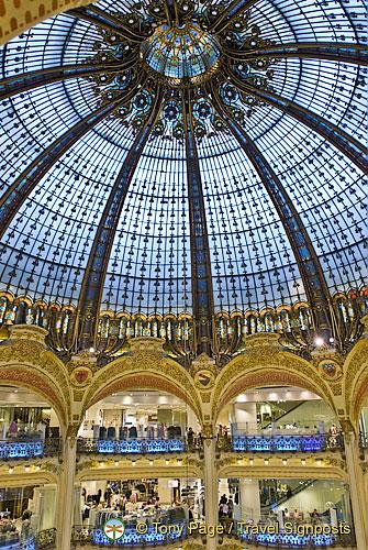 Shopping in Paris: Galeries Lafayette