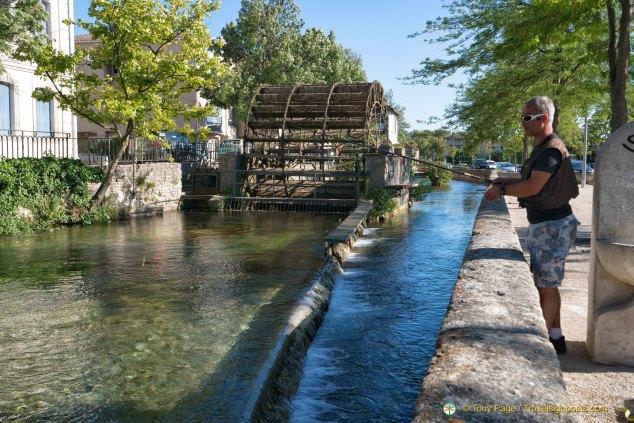 L'Isle-sur-la-Sorgue water wheels