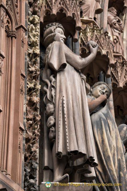 Strasbourg Cathedral legend