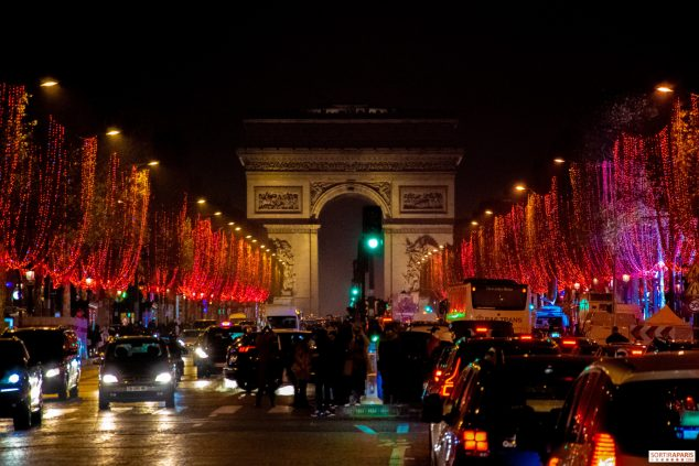 Paris Christmas Illuminations