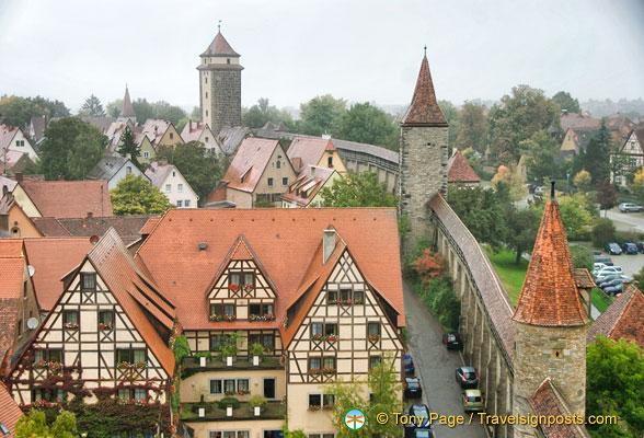 Rothenburg Wall Walk
