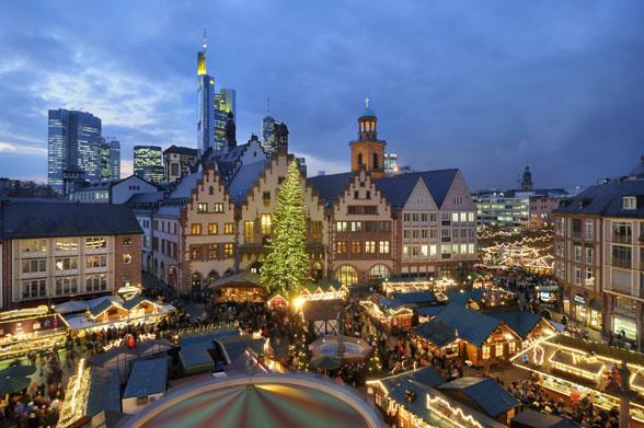 Weihnachtsmarkt Frankfurt Am Main.Frankfurt Christmas Market Frankfurt Weihnachtsmarkt German