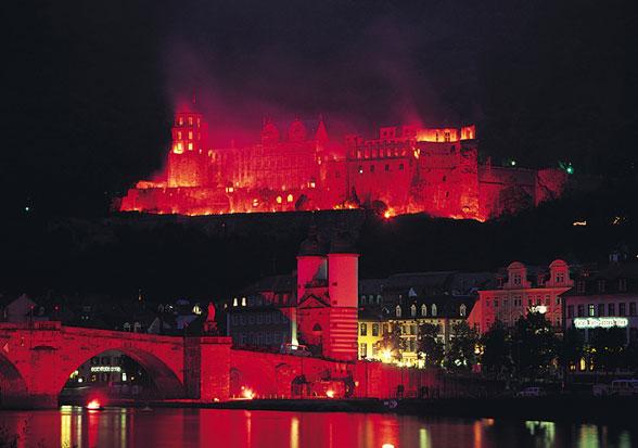 Image result for Heidelberg castle fireworks