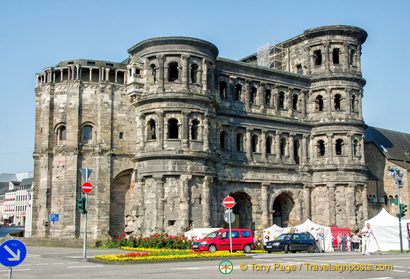 Trier's famous Porta Nigra