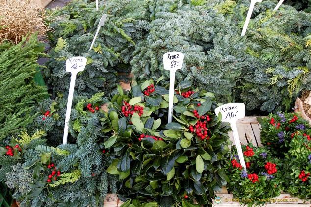 Viktualienmarkt plants