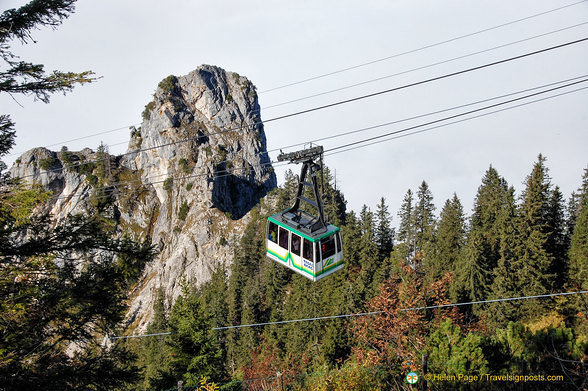 Tegelberg cable car
