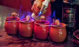 Feuerzangenbowle or Glühwein with a Kick