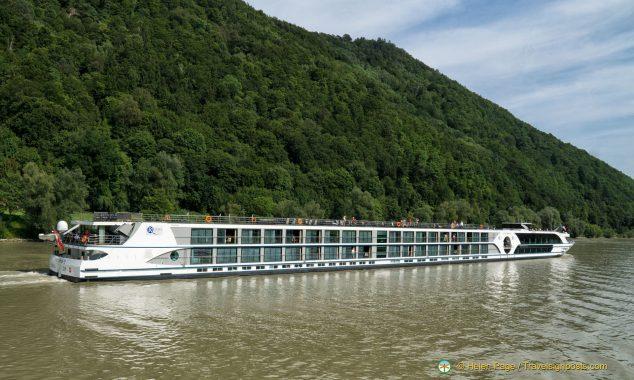 Danube riverboats