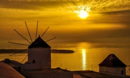 The Magic of Sunset in Oia