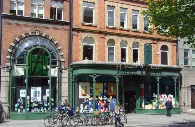 The renowned Hodges-Figgis bookshop