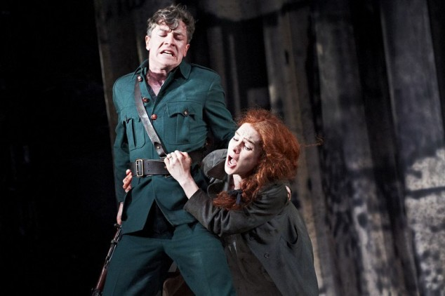 "Scene from Sean O'Casey's powerful classic""The Plough and the Stars"" at The Abbey Theatre in 2012. The Plough and The Stars is set during the upheaval of the 1916 rising."