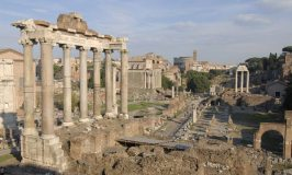 The Roman Forum or Forum Romanum