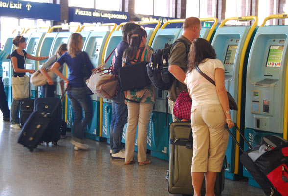 Getting to Fiumicino Airport from Termini Station