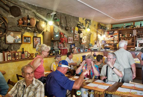 Porchetta in Castel Gandolfo