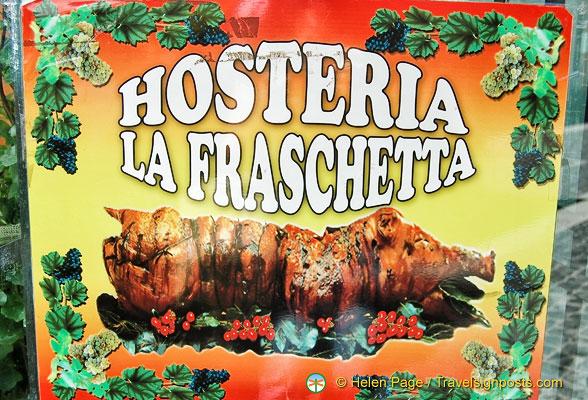 Castel Gandolfo Restaurant