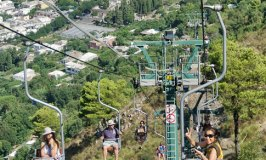 A Chairlift Ride from Anacapri to Monte Solaro