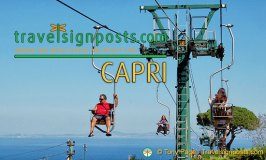 Capri: Live from the Monte Solaro Chair-lift!