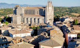 A Bird's-eye View of Orvieto from the Torre del Moro