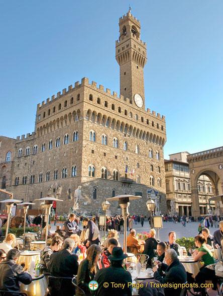 Palazzo Vecchio on Piazza della Signoria
