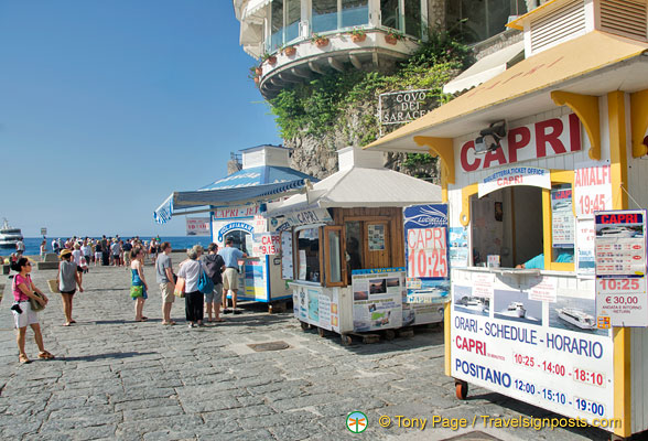 Positano Ferry Tickets