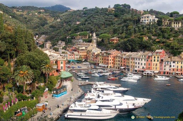 Portofino harbour