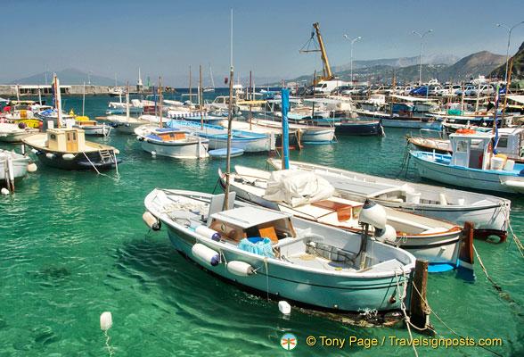 Capri Boat trip