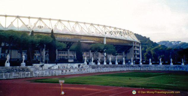 Stadio Olimpico from the Marble Stadium