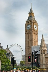 Big Ben and London Eye