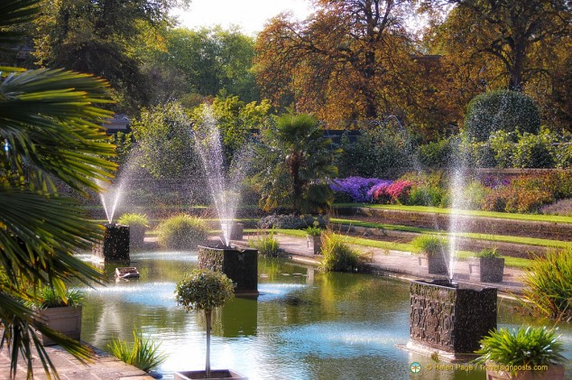 The Water Garden at Kensington Palace