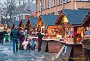 Trondheim Christmas Market, Norway