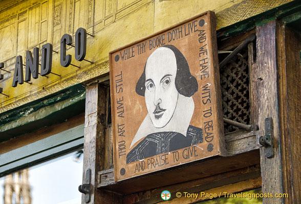 Shakespeare bookshop