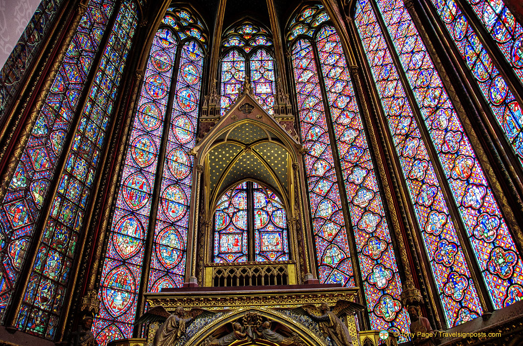 Sainte-Chapelle - Famous for its Stunning Stained Glass