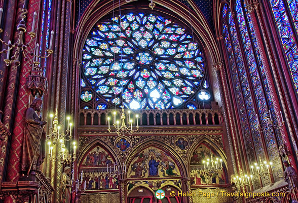 Sainte-Chapelle rose window