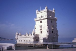 The 16th century Belém Tower, the ceremonial gateway to Lisbon