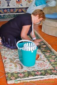 Carpet making - Arraiolos