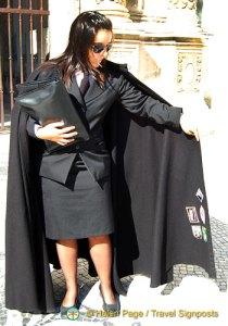 Coimbra University Black Cape
