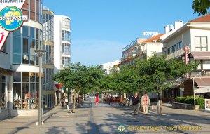 Shopping in Fatima, Portugal