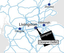 Livingston Designer Outlet Directions