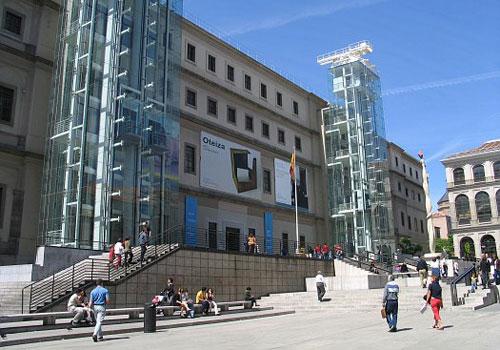 Museo Reina Sofia.Museo Reina Sofia The Reina Sofia Museum Art In Madrid