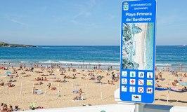 El Sardinero Beach, Santander